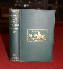 A Nauturalist's Voyage Around the World.  Charles Darwin. 1889