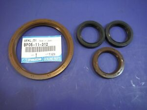 Miatamecca New Engine Seal Kit 91-05 Mazda Miata MX5 BP0511312 OEM