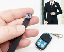 Button design 1080P HD Remote control smallest mini micro DIY HD camera Recorder