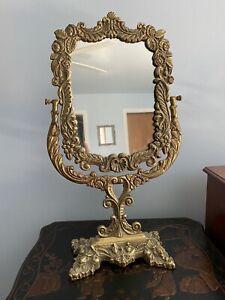 Vintage Ornate Vanity Top Mirror