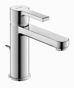 Duravit B.2 1020002U10 Single Lever Faucet Chrome 1.2 GPM, LESS Drain Assembly