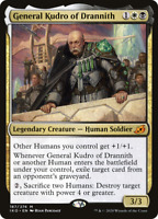 x1 General Kudro of Drannith IKO MTG Ikoria 187/274 MYTHIC M/NM 1x