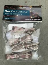 New Trex Deck Lighting Recessed Deck Lights 4 Pk *Not Opened*