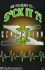 POSTER: WRESTLING :WWF : D-GENERATION X - ARE YOU READY.- FREE SHIP #3449 RP91 M