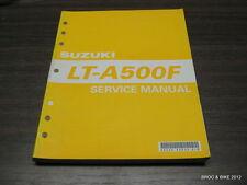 MANUEL  TECHNIQUE D ATELIER QUAD SUZUKI LT-A 500 F 2000 ->SERVICE MANUAL LTA500F