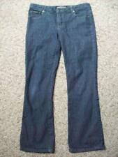Giordano Blues Stretch Slim Boot Cut Leg Mid Rise Jeans Waist Size 28 6 @ cLOSeT