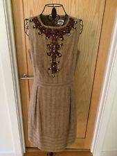 Milly Of New York Damas Vestido Con Cuentas-UK Size 12-14 US tamaño 10