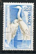 STAMP / TIMBRE FRANCE OBLITERE N° 1820 / FAUNE / AIGRETTE GARZETTE