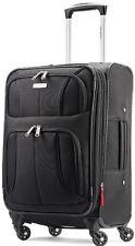 "Samsonite Luggage Aspire XLite 20"" Spinner Expandable Carry On Suitcase - Black"