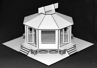 1:32 Scale Kit - Octagon Pagoda - for Scalextric/Other Layouts