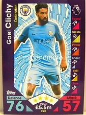 Match Attax 2016/17 Premier League -  U28 Gael Clichy - Update