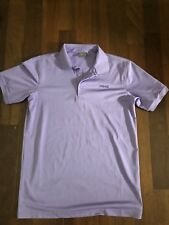 Ping SensorCool Golf Polo Shirt T Shirt Purple Lavender Size Small