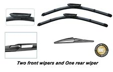 Renault Clio Grandtour 2008-2012 New Front and Rear windscreen wiper blades