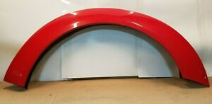 NEW OEM T/O RED LEFT REAR WIDE BODY FENDER FLARE TRIM CHARGER 15-20 [AH910-03]