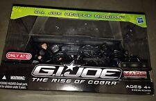 Gijoe The Rise of Cobra Rescue Mission Snake Eyes Duke 2 Neo-Viper Hasbro 2009