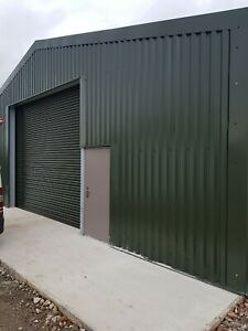 INDUSTRIAL Galvanised Steel  -  ELECTRIC Roller Shutters/Roller Shutter Doors