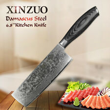 """XINZUO 6 .8"""" Damascus slicing knife High quality super sharp Japanese chef knife"""