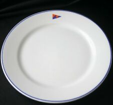 Vintage CORAL REEF YACHT CLUB Luncheon Plate