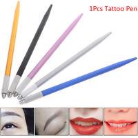 1Pcs Microblading Tattoo Machine Tool Permanent Makeup Eyebrow Manual Handle  SP