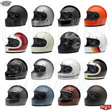 Biltwell Gringo Helmet Full Face Motorcycle Helmet Biltwell Helmet Choose Color