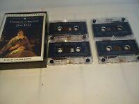 Audio Books Cassette Tapes x 4 Charlotte Bronte Jane Eyre Penguin Audiobooks