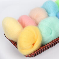 DIY Cotton Yarn Knitted Wool Soft Colorful Crochet Woven Thread