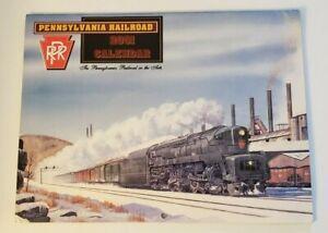 PRR Pennsylvania Railroad Calendar - 2001 Cover by Bennett