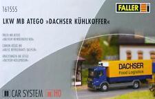 """Faller 161555 H0 - CAR- SYSTEM """" LKW MB Atego mit Dachser Kühlkoffer NEU & OvP"""