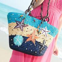 Fashion Women Shoulder Large Shopping Bag Beach Satchel Handbag Tote Purse