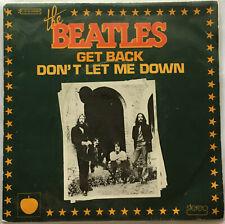 THE BEATLES / GET BACK - DON'T LET ME DOWN / FRANCE APPLE / 1976 REISSUE