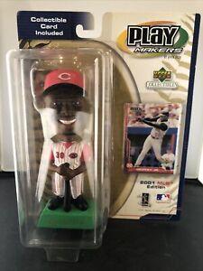 Upper Deck Play Makers, Ken Griffey Jr. Bobblehead 2001, MLB Cincinnati Reds NIB