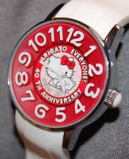 RARE! Hello Kitty AmonnLisa Watch 40th Anniversary White SANRIO JAPAN NEW BATT!
