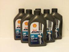 6 Ltr Shell Advance Ultra 4T 10W-40 + 2 x Original Ölfilter Ducati