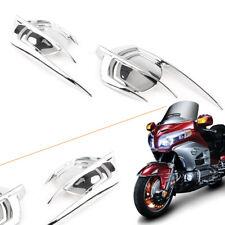 Motorcycle Chrome Falcon Emblem Fairing Cover For Honda Goldwing GL1800 2012-17