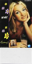 Britney Spears 2000 Got Milk Original Promo Poster