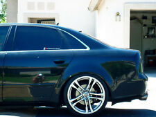 Audi A4 S4 RS4 B6 B7 Euro Roof Extension Rear Window Cover Spoiler Wing Trim ABS