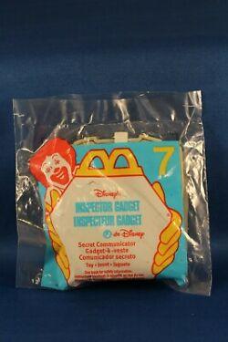 Vintage McDonalds Toy Giveaway Inspector Gadget Secret Communicator 7 NIP