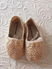 Airwalk - Toddler Size 5 Ivory Lace Casual Shoes