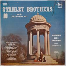 THE STANLEY BROTHERS: Presents Mountain Song Favorites STARDAY USA Orig LP