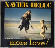 Xavier Deluc - More Love ! - CDM - 1993 - Pop Rock 3TR Xavier Lepetit