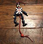 Nutcracker Pull String Puppet Toy Ornament Wooden British Solider Cork Creations
