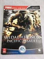 Medal Of Honor Pacific Assault Prima Game Guide Pc Game Strategy Guide