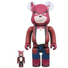 Medicom Be@rbrick The Boy And The Beast Anime Kumatetsu 400%/100% Bearbrick Set