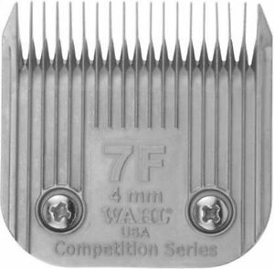 """WAHL COMPETITION 7F BLADE 4mm.  5/32"""".  DOG GROOMING."""