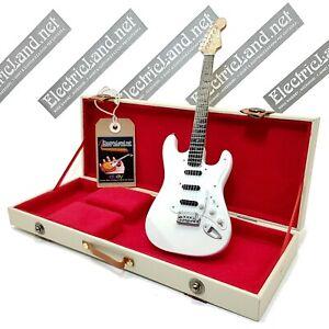 Mini Guitar DEEP PURPLE + hard case box scale 1:4 miniature gadget collectible