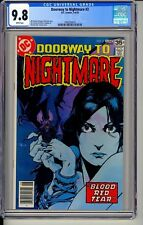 Doorway to Nightmare #3 CGC 9.8 DC 1978 New Case! White Pages! H7 116 cm