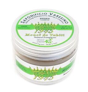 Preshave-Butter Monoi de Tahiti Frangipani Natural SAPONIFICIO VARESINO Italy
