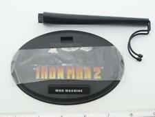 Hot Toys 1/6 Scale MMS120 IRON MAN 2 War Machine - Stand