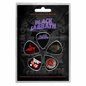 Black Sabbath 5 Plectre Paquet (Ro )