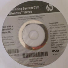 Windows 10 Pro Operating System HP Compaq Genuine Reinstall Repair Recovery DVD